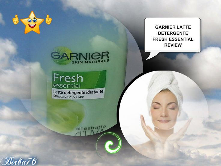 LATTE DETERGENTE FRESH ESSENTIAL DELLA GARNIER SKIN NATURALS Recensione sul blog http://danyshobbies.blogspot.it/2014/09/latte-detergente-fresh-essential-della.html