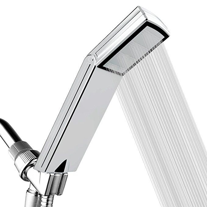 Handheld Shower Head With On Off Pause Switch New High Pressure