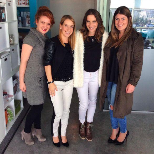 Marie-Christine Proulx en visite à l'agence! #vieFDM