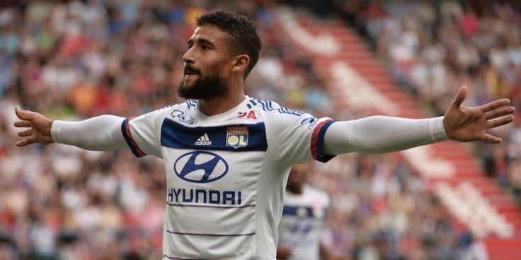 2015 - Nabil Fekir auteur d'un hat trick à Caen (0:4) photo AFP
