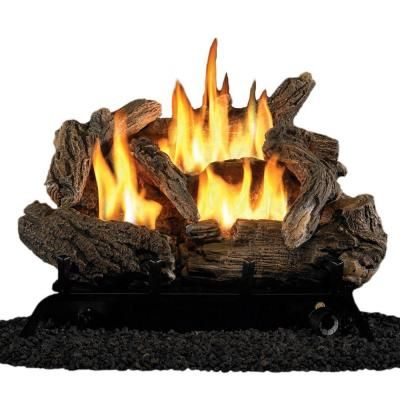 Vent-Free Dual Fuel Gas Fireplace Logs-PCD18T - The - 25+ Best Ideas About Gas Fireplace Logs On Pinterest Gas Logs