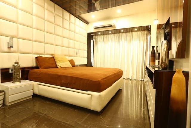 Basant Park Chembur Modern Style Bedroom By Aesthetica Modern