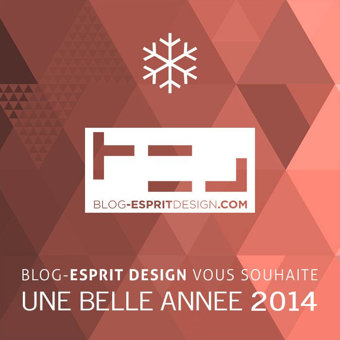 Happy New Year 2014 - Blog Esprit Design
