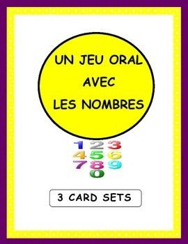 This French Numbers Game is based on the principle of Le cercle magique.  It is ideal for encouraging students to speak and listen attentively in class while practising French numbers and fostering whole-class participation.3 card sets are included to allow for a gradual progression in the master of numbers:a) Card Set 1:  All numbers 1-20   (20 participants)b) Card Set 2:  Random Numbes 1-50      (25 participants)c) Card Set 3:  Random Numbers 1-100     (25 participants)**Special Bonus…