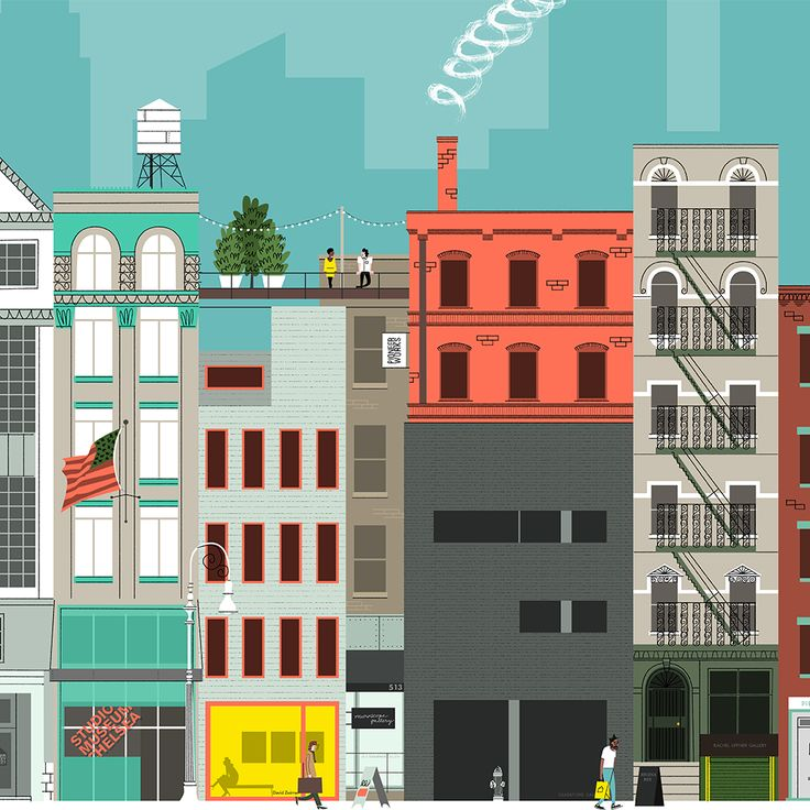 Best Buildings Townscape Architecture Graphics Images On