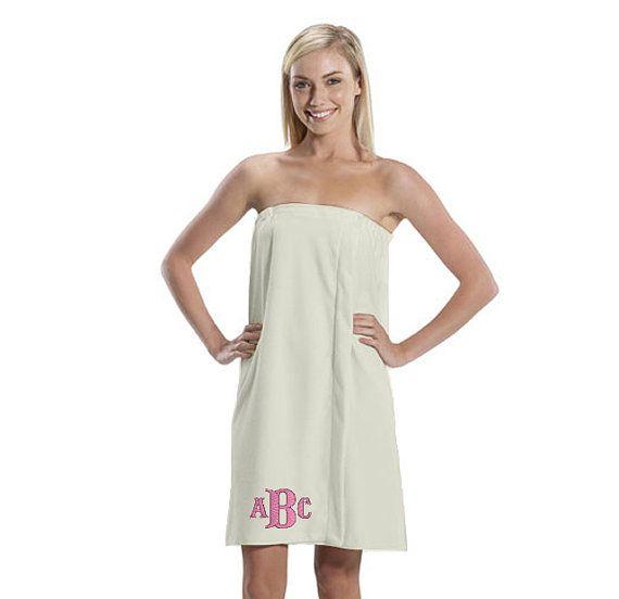 Velcro Shower Towel Wrap: Personalized Bath Towel Wrap