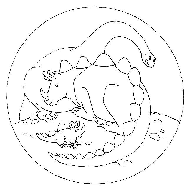 17 best images about coloriages dinosaures on pinterest land before time gel pens and - Top coloriage dinosaures ...
