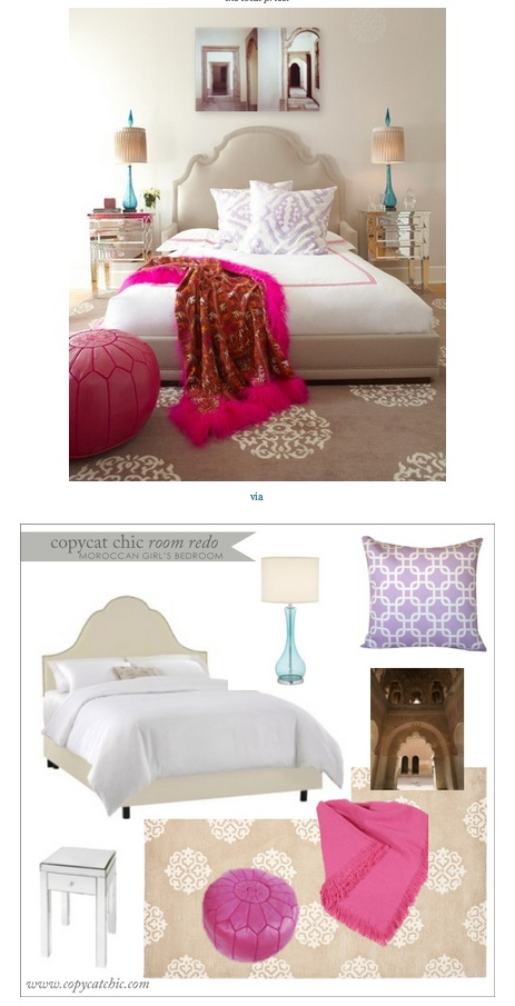 COPY CAT CHIC ROOM REDO I MOROCCAN INSPIRED BEDROOM $1650