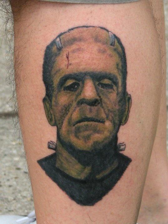 Frankenstein by Mike Natarelli. The Last Detail Tattoo Studio, Milwaukee, WI.