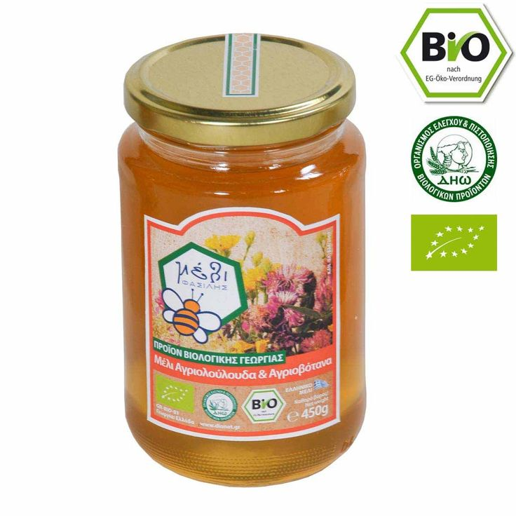 Organic Flower Honey 450gr from Southeastern Peloponissos In the booming slopes and the plains of the Greek countryside, bees fly off and mix the nectar of the various wild flowers and herbs, many of which are unique in the world. The resulting Flower Honey is the sweetest honey of the Greek nature. Its light color, its smooth flavor and its wonderful scent of flowers make it irresistible.