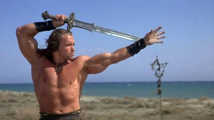 Conan the Barbarian: Arnie was born to play this role.