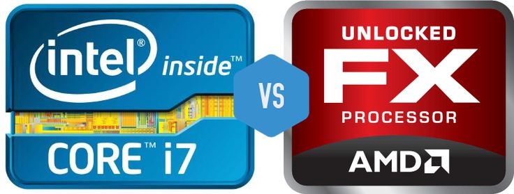 Intel Core i7 3770K  vs AMD FX 8350
