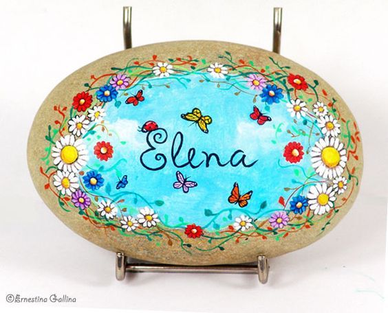 Really flowery and pretty name Rock!: