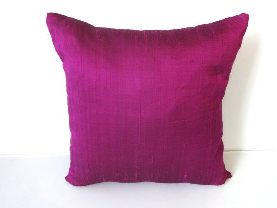 STOCK CLEARANCE 40% OFF-Purple cushion cover and throw pillow 18 inch- 2 in stock
