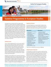 Summer Programme in European Studies                                                           #studyabroad #travel #europe #CES #CESMaastricht #Maastrichtuniversity #exchange