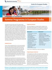 Summer Programme in European Studies                                                           #studyabroad #travel #europe #CES #CESMaastricht #Maastrichtuniversity #exchange