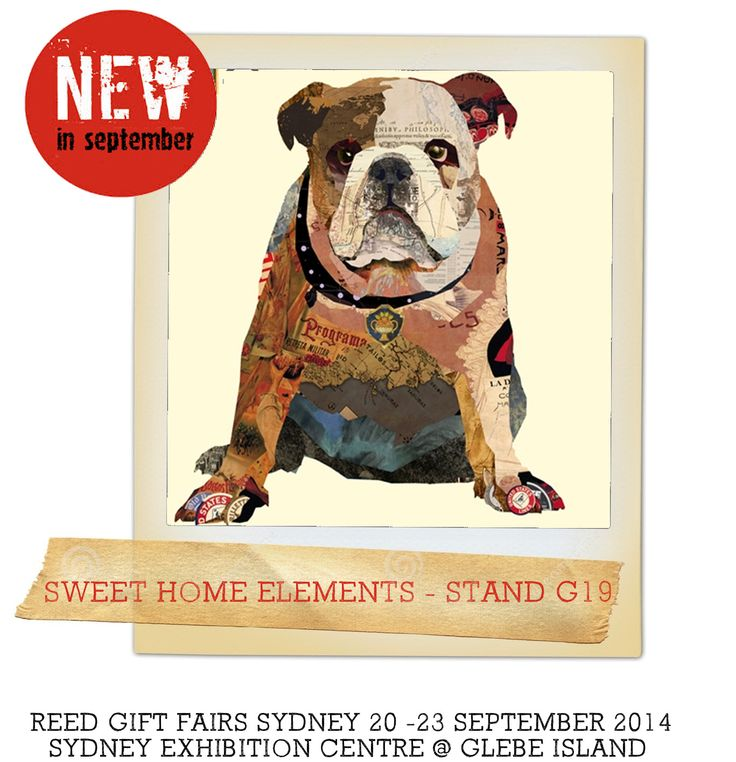 sweet home elements at stand G19 Reed Gift Fairs Sydney September 2014