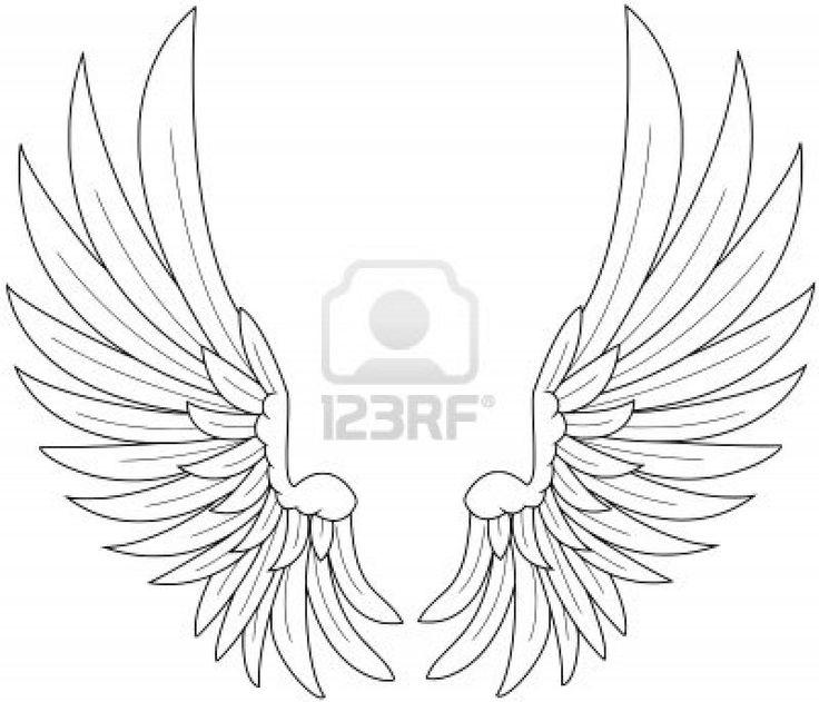 Dessin ailes de fée - Dessins à colorier - IMAGIXS