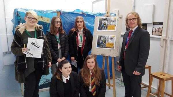 Ullswater Community Students Escape to Safety http://www.cumbriacrack.com/wp-content/uploads/2017/11/IMG_20171103_095304.jpg Over the past fortnight, almost all the students at Ullswater Community College experienced Escape to Safety – a multi-media exhibition that depicts the plight of refugees and asylum seekers    http://www.cumbriacrack.com/2017/11/16/ullswater-community-students-escape-safety/