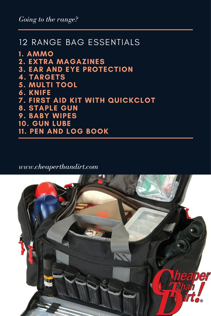 Find everything you need for the gun range at Cheaper Than Dirt!