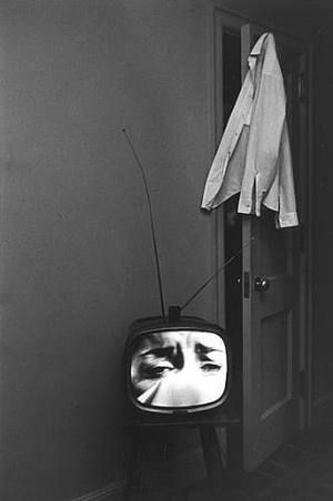 """Lee Friedlander, Nashville, Tennessee, 1963 -  (born July 14, 1934) is an American photographer and artist. In the 1960s and 70s, working primarily with 35mm cameras and black and white film, Friedlander evolved an influential and often imitated visual language of urban """"social landscape,"""" with many of his photographs including fragments of store-front reflections, structures framed by fences, posters and street signs."""
