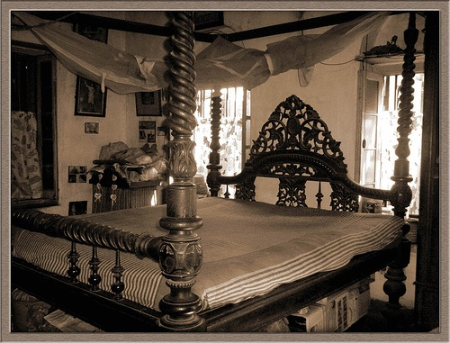 Anglo-Indian Bed. When We're In Our Dream Home :)