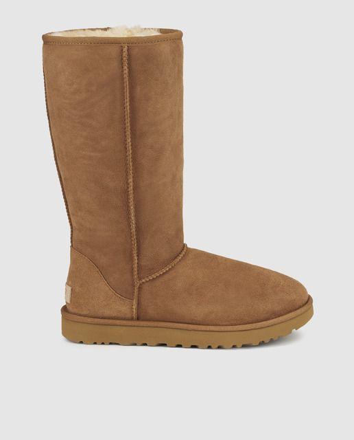 561db88996a9d Botas de mujer UGG de color marrón claro · UGG · Moda · El Corte Inglés