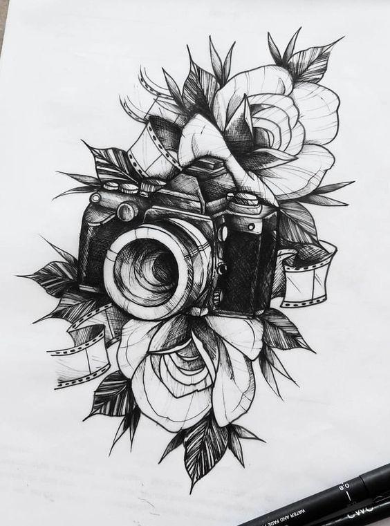 19 besten Blumen Tattoos Ideen #3dtätowierungen #45tätowierungen #besten #Blumen #comedy #c…