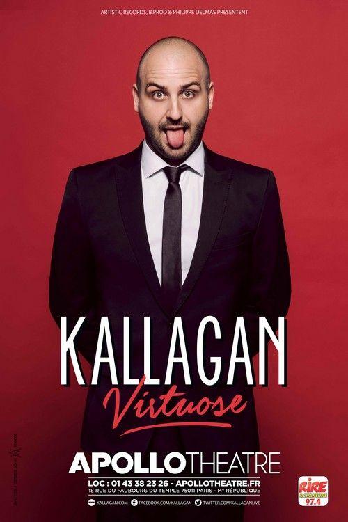 Kallagan : un one-man show sauce sexuelle à l'Apollo Théâtre
