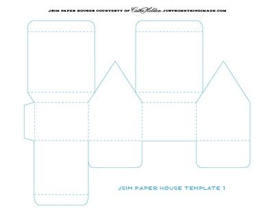 templates and tutorial for glitter houses | glitter house tutorials ...