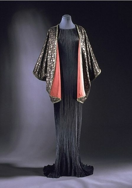 Mariano Fortuny- Spanish-born designer who began exhibiting in the 1890s. He…