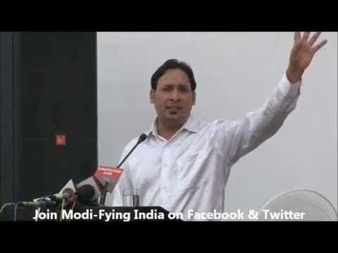 Suresh albela Poetry For Narendra Modi in Modi-Fying India's Concert