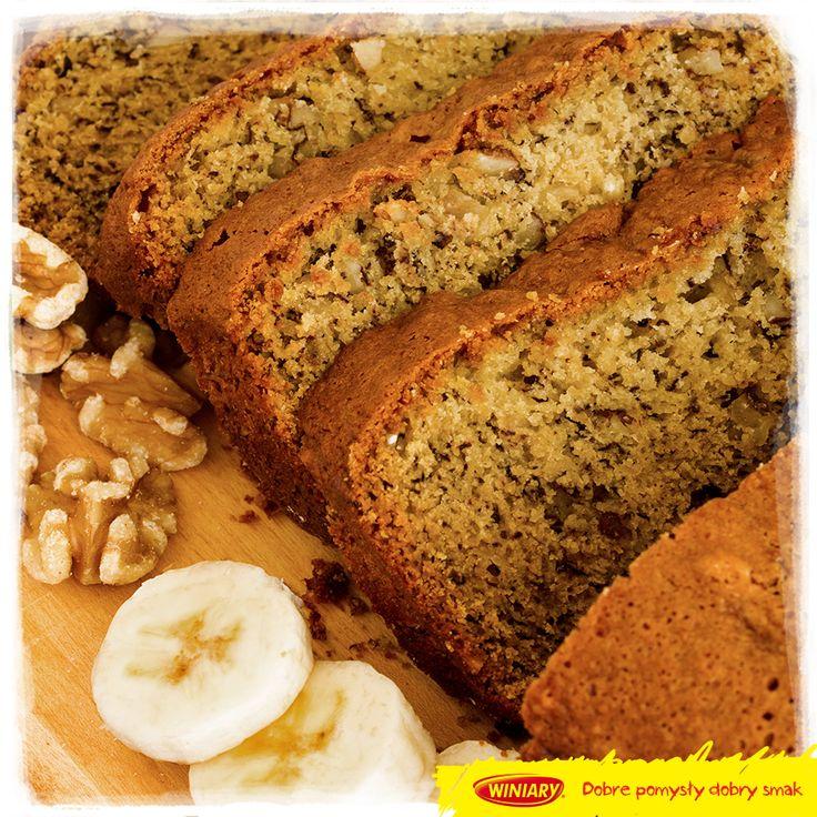 Słodki chlebek bananowy. Najlepszy jest taki gorący, z masełkiem albo dżemem. :) www.winiary.pl
