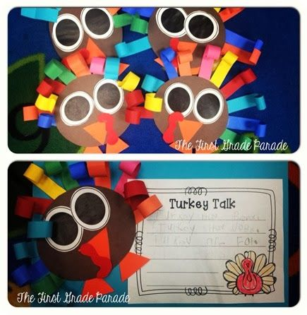 408 best thanksgiving images on pinterest fall school for Turkey crafts for first grade