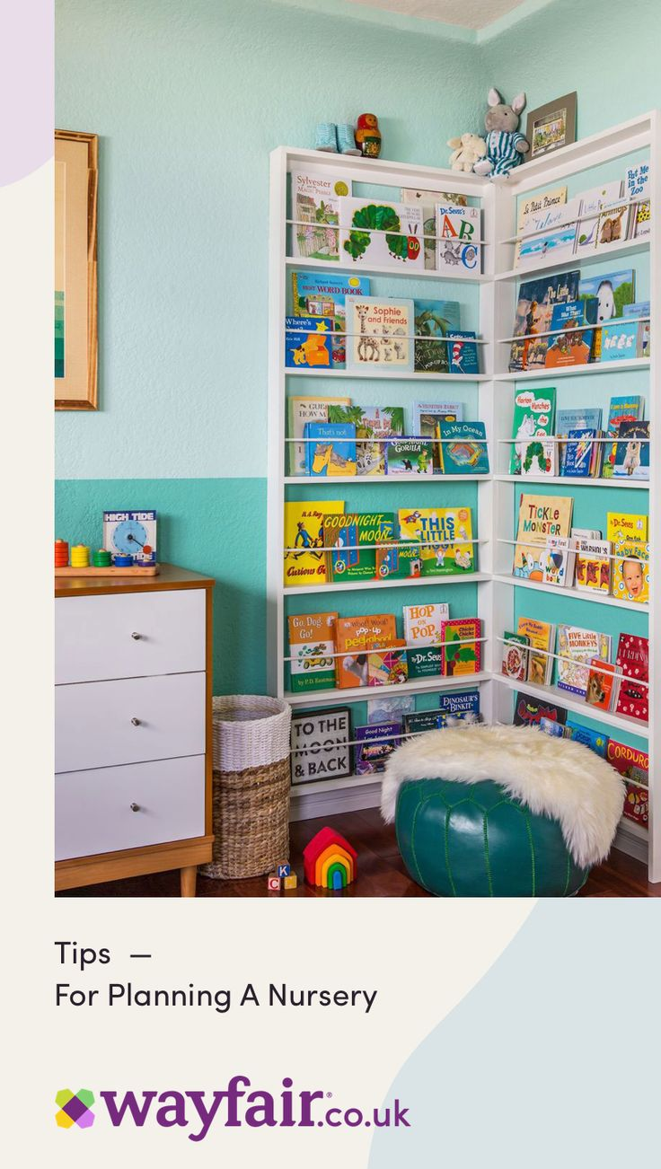 A Mom Who Knows Her Stuff shares her best tips for decorating a baby's nursery.