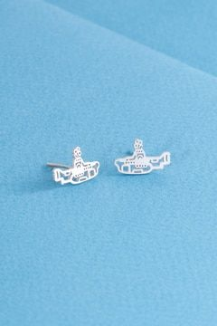 be79386b2 Submarine Stud Earrings | Silver | earrings | Earrings, Stud ...