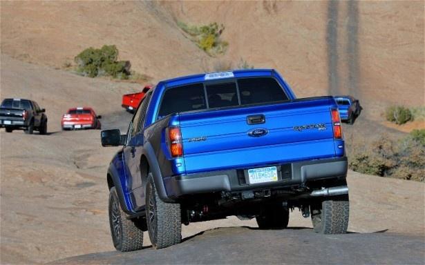 The 2012 Ford Raptor : 2012 Ford F 150 SVT Raptor Rear End