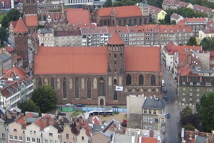 Gdańsk i dominikański kościół pw. św. Mikołaja. #dominikanie #gdańsk #klasztor
