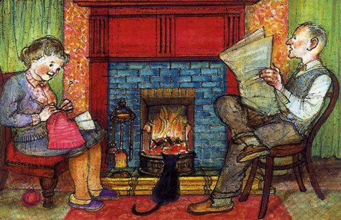 Ethel and Ernest by Raymond Briggs. A true story of his family life 1930 to 1971 in comic format the illustrations are divine.