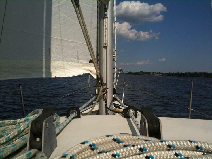 Smooth sailin' Lac des Deux-Montagnes, juin 2013