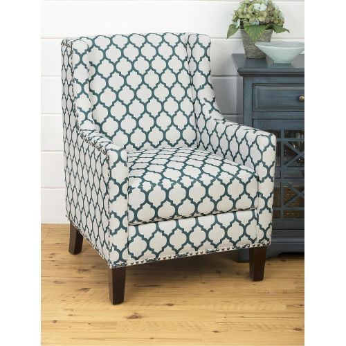 Best Aqua Blue Accent Chair Jeanie Collection Blue Accent 400 x 300