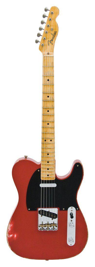 Fender Electric Guitar Relic Nocaster Dakota 1951 Red