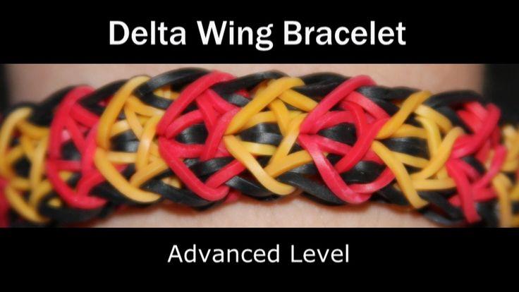 Rainbow Loom® Delta Wing Bracelet