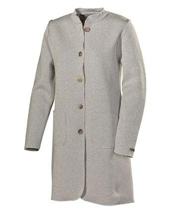 Helene Coat Light Greymelange
