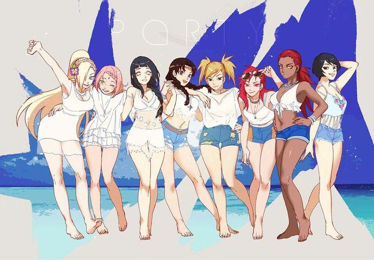 Naruto shippuden girls