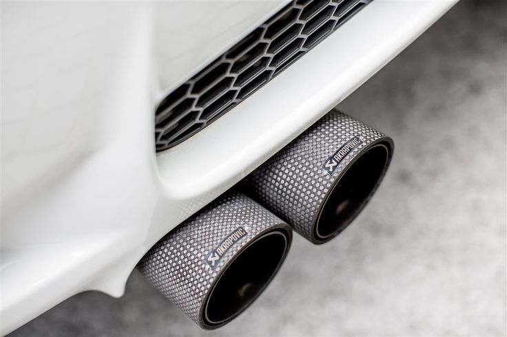 Akrapovic Carbon Tailpipes on BMW M3 - #akrapovic #performance #exhaust #BMW #clp #sheffield