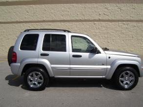 2003 Jeep Liberty 4dr Limited 4WD  Price	$11,983    Body Style	4-Door	 SUV  Mileage	56,163  Engine	V6 Cylinder Engine	 Gasoline  Transmission	4-speed automatic transmission  Ext. Color	Silver Mist  Stock Number	P3121  VIN	1J4GL58K13W644367  Location	Kent Rylee Automotive Solutions Rogers, AR