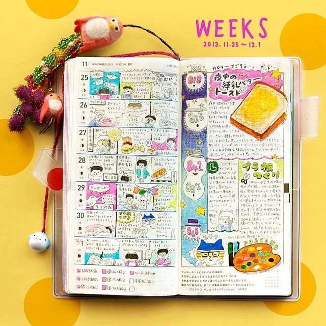 why doesn't my journal look like that?! journal love.  Hobonichi techo