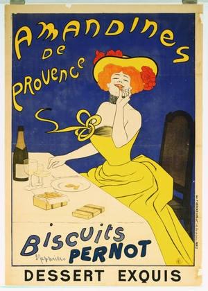 Leonetto Cappiello. Amandines de Provence, Biscuits Pernot. 1900-1954: De Provence, Vintage Posters, Art Nouveau, Vintage French, French Poster, Leonetto Cappiello, Biscuits, Vintage Art