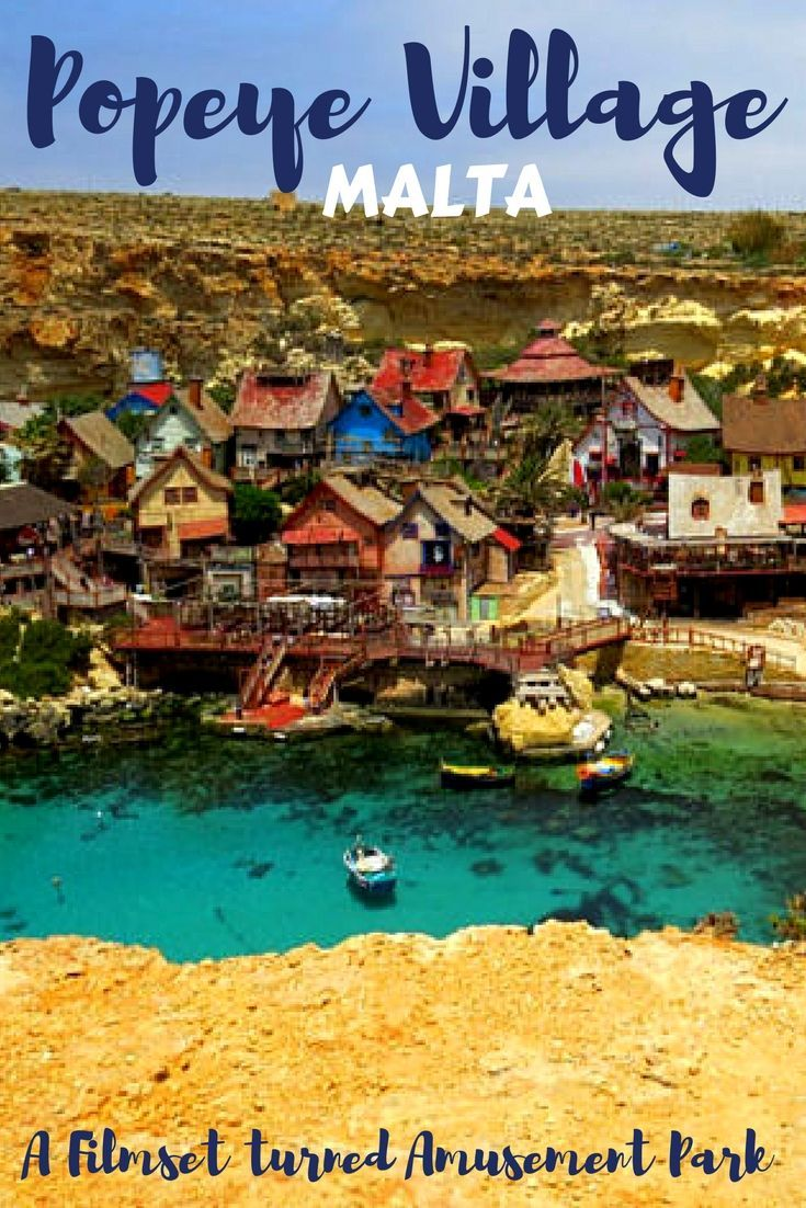 Popeye Village an abandoned film set of 1980 musical film Popeye and today a popular amusement park is located around 10 minutes drive from the Cirkewwa ferry terminal. This enchanting little village has all the toy house charm to allure anyone to stop by and make a visit.